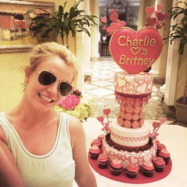 Britney Spears: La belle Saint-Valentin