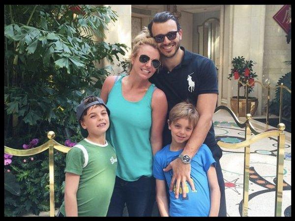 Britney Spears en famille à Las Vegas