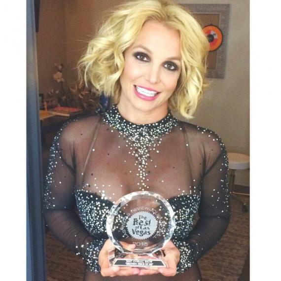 Britney Spears : Récompensée pour son spectacle à Las Vegas !