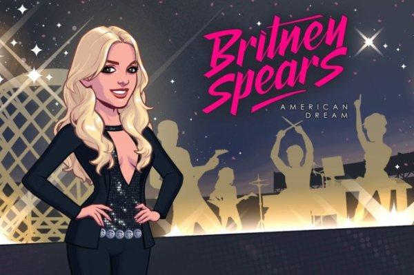 Britney Spears, héroïne d'un jeu pour smartphone