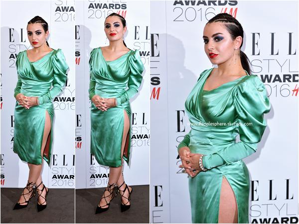 - 23.02.2016 : Charli XCX assistant aux Elle Style Awards 2016 à Londres. -