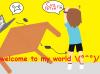 Welcome to my world et présentation des pérsonnages principaux de mon blog o.o