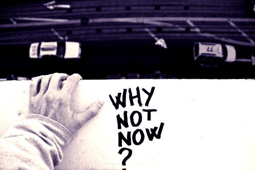 ~ Why Not Now ~