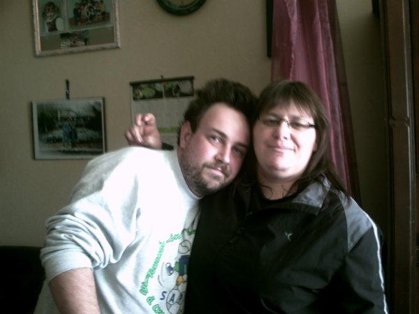 moi et l'une de mes belle soeur
