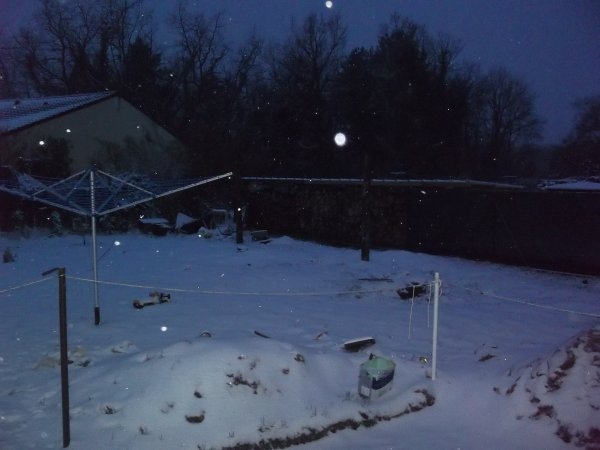 la neige d'hier 2