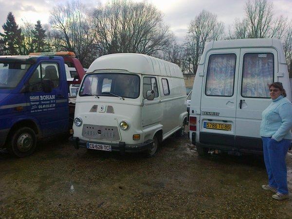 voitures de collection vu dans une casse la semaine derniere