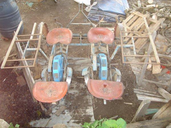 machine pour planté les pommes de terre