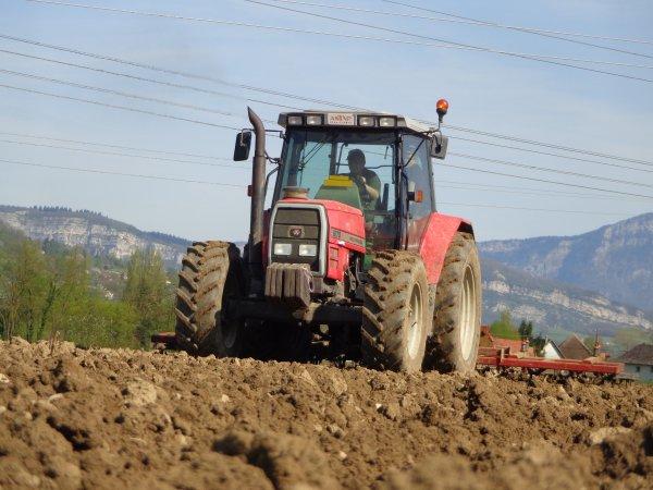 Préparation des terres a maïs 2014