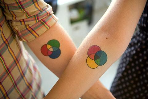 Série tatouage collectif.