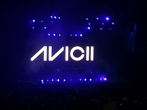 Concert avicii, Paris-Bercy