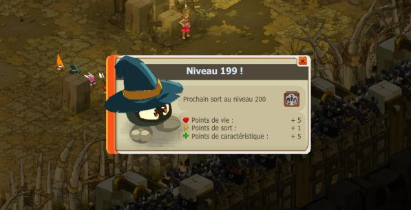 YEAH ! Premier Personnage 199 =)