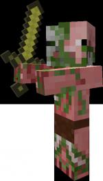 Les Monstres : Slime , Zombie , Zombie/Cochon , Fantome .