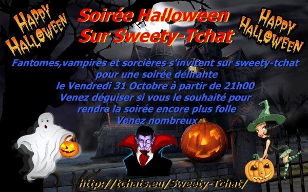ne manquer pas notre soirée Halloween