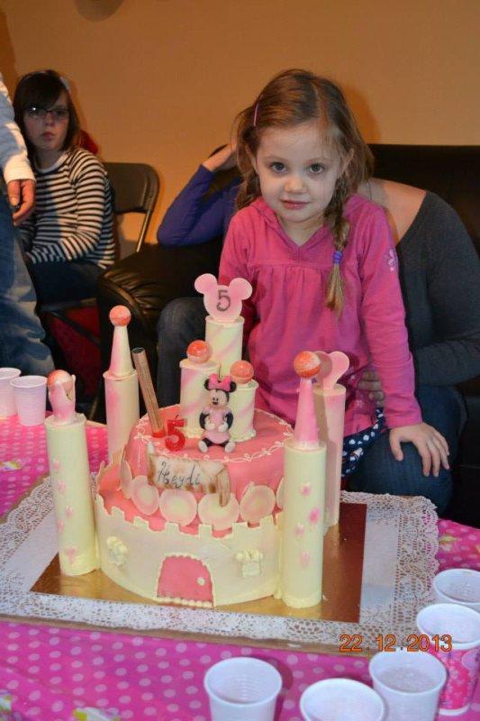 anniversaire de ma petite fille heidy ce 22 elle a eu 5 ans .