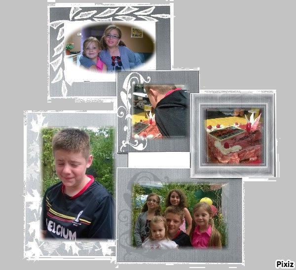 Petit montage de la Fête d'Anniversaire de mon petit fils Lorenzo pour ces 13 ans