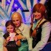 Pour sa fête d'anniversaire Heidy a rencontré la Reine des Neige ainsi que sa soeur Tiphany