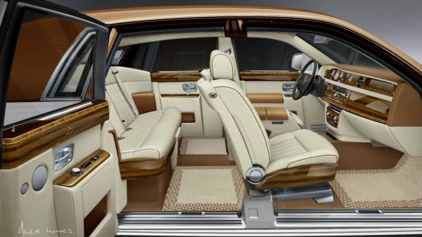 Rolls royce phantom int rieur florian is a king for Interieur rolls royce