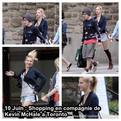 HEATHERELIZABETHMORRIS.SKY 10 Juin 2011 : Heather faisant du shopping a Toronto 21 Juin 2011 : Heather vue a la sortie d'un bar a Manchester. HEATHERELIZABETHMORRIS.SKY