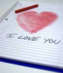 J'ecris ton nom.