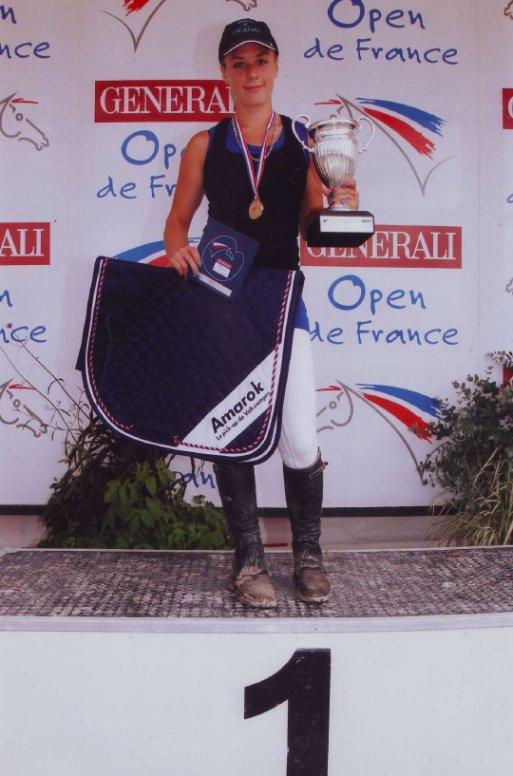 Caro et Kaiser Champions de France 2011 en Equifeel Club