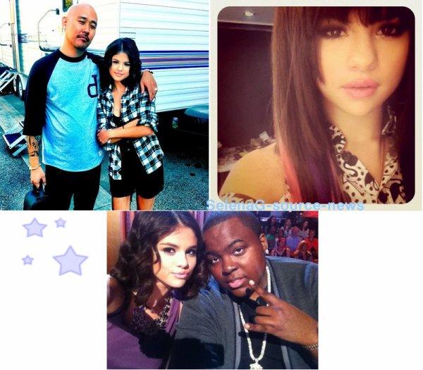 Selena a posté des photos sur twitter.