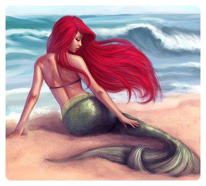 Ariel : Une bouée à la mer.