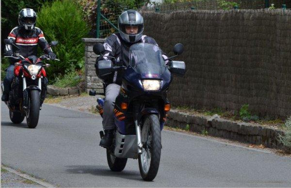 Balade moto ❤