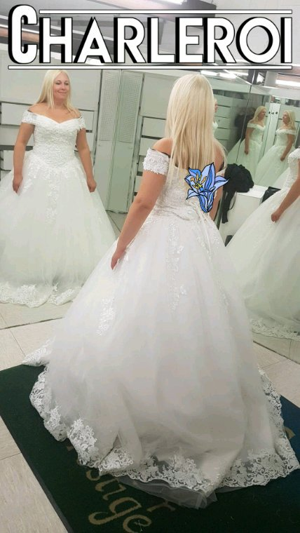 Essayage robe de mariée Cindy