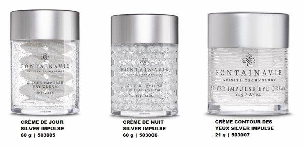 NOUVEAUTÉ LA COLLECTION Crème Fontainavie SILVER IMPULSE