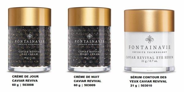 NOUVEAUTÉ LA COLLECTION Crème Fontainavie CAVIAR REVIVAL