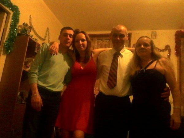 moi en soirée avec la famille