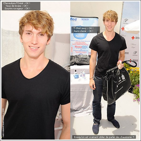 ". 04 Juin 2011: Benjamin Stone était à l'évènement "" Melanie Segal's Red Cross Prepare LA Trend Lounge In Celebration Of The MTV Movie Awards. "" à Los Angeles. ."