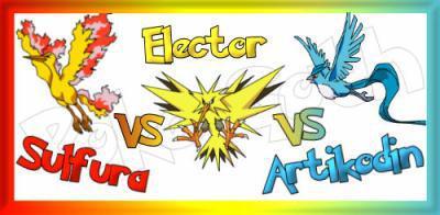 Duel n 2 sulfura vs electhor vs artikodin 100 pok mon - Elector pokemon x ...