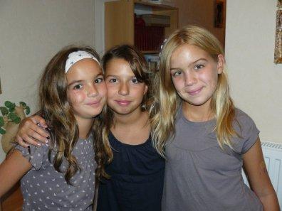 Je vous aimes les filles !!!
