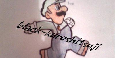 mon dessin de luigi