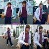 21/07/2012 : Louis quittant le studio d'enregistrement