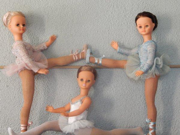 Les danseuses à l'entrainement