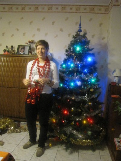 Décorations de Noël avec Ma Belle!!!!