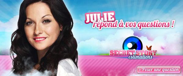 Posez vos questions à Julie !