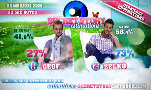 ESTIMATIONS -  DIXIEMES NOMINATIONS : GEOF / ZELKO
