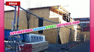 EXCLUSIF : Des photos de la maison en construction !