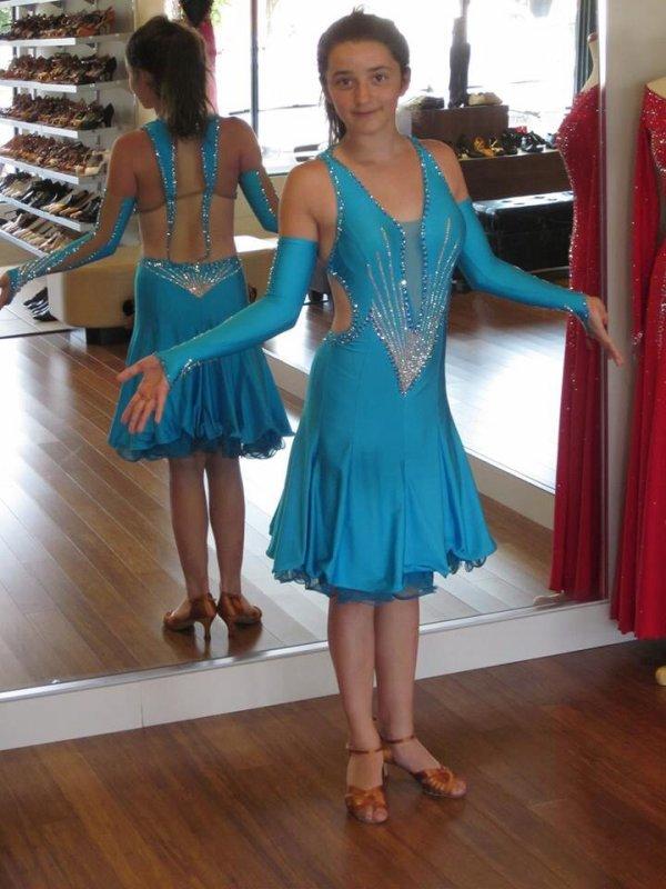 Ma robe de danse latine