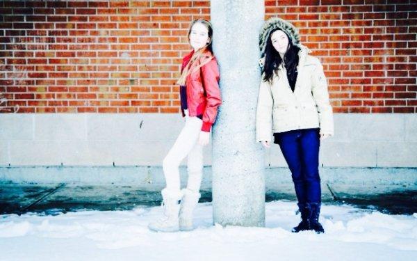 A la demande, je rajoute des photo de hivers québécois!! ^^