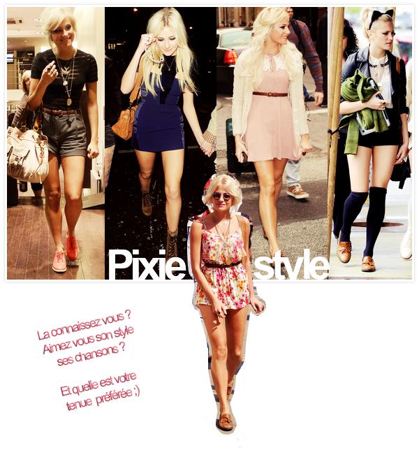 Pixie Lott  style ♥