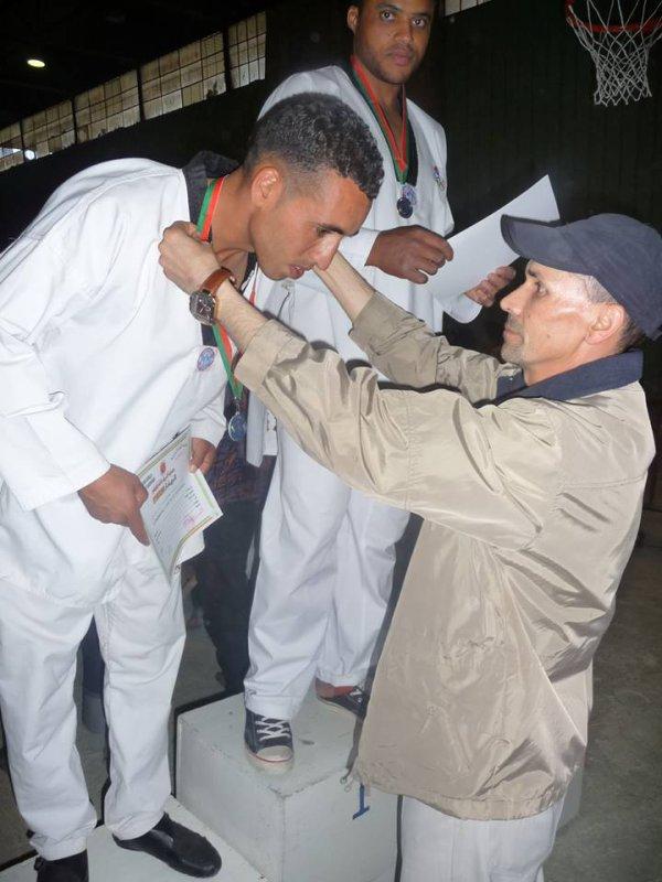 Mon Maitre de TaeKwonDo :  Mer :  :)  Abdoulfetah mouyasir  :)