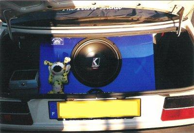 Ma 1ère installation ds ma voiture en 1999 !!! aïe , ça ne me rajeunit pas lol