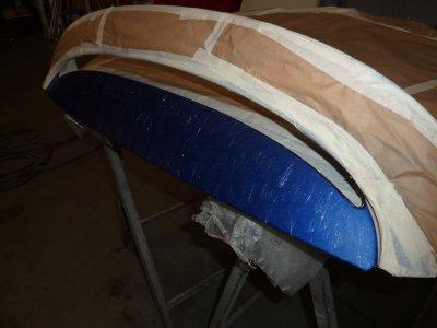 La préparation du toit pour recevoir le CRYSTAL FX.