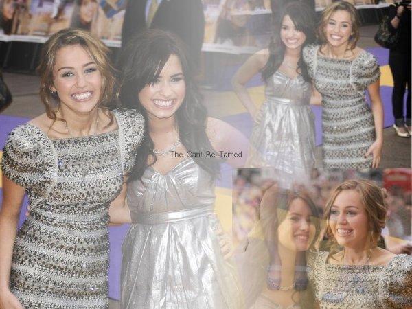 Suis L actualité Des 2 BFF Demi Lovato Est Miley Cyrus