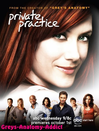 PRIVATE PRACTICE : Le Spin-Off