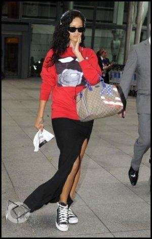 Rihanna est de retour à Londres